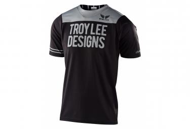 Maillot manches courtes Troy Lee Designs Skyline Noir gris