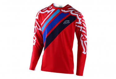 Maillot manches longues Enfant Troy Lee Designs Sprint Rouge navy