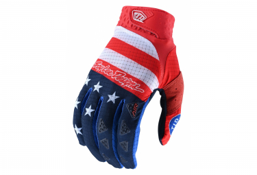 Gants Troy Lee Designs Air Rouge bleu