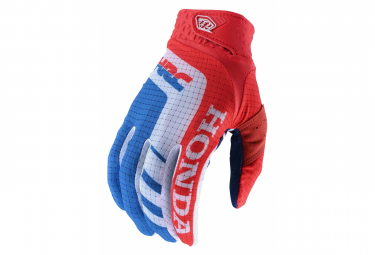 Gants Troy Lee Designs Air Rouge blanc bleu