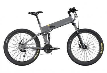 Bicicleta eléctrica de montaña Etna 14Ah - Gris Titanio