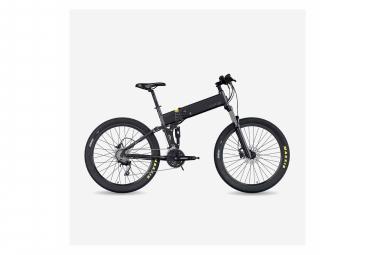Legend Etna Vélo VTT Eléctrique VAE E-MTB Smart eBike 27,5 , Vitesse Max 25km/h, Double Suspension RockShox   KS, Freins Disque Hydraulique, Batterie ION 36V 14Ah Panasonic (504Wh), Noir Onyx