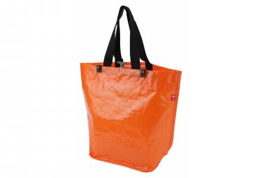 Image of Sacoche velo woven orange