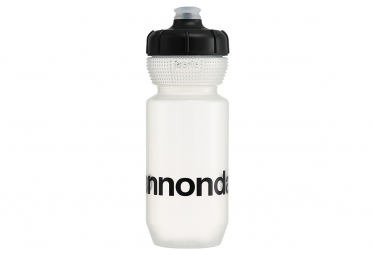 Image of Bidon cannondale logo gripper 600ml transparent