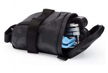 Black Fabric Saddle Bag