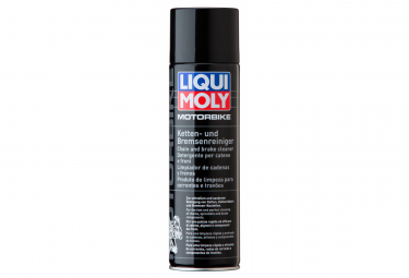 Image of Spray degraissant pour chaine et freins liqui moly motorbike chain and brake cleaner 500 ml