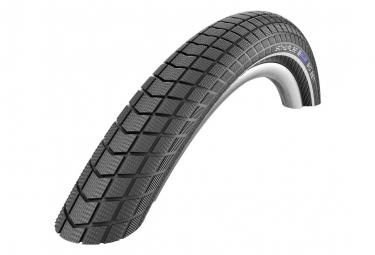 Schwalbe Big Ben 26 '' Pneumatico Tubetype Wire LiteSkin RaceGuard Endurance Compound Black-Reflex E-Bike E-50 Nero