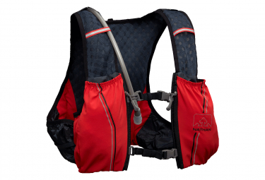 Nathan Vapor Swift Hydration Pack - 4L Red / Blue