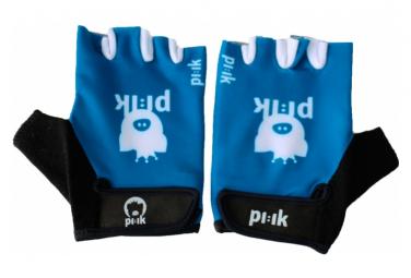 Paire de gants courts Pi:ik - bleu