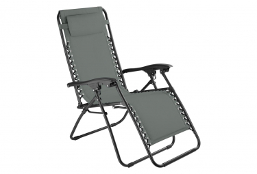 Image of Chaise de jardin camping meuble gris 2208117