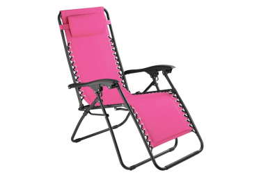 Image of Chaise de jardin camping meuble rose 2208119