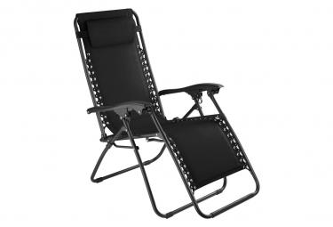Image of Chaise de jardin camping meuble noir 2208118