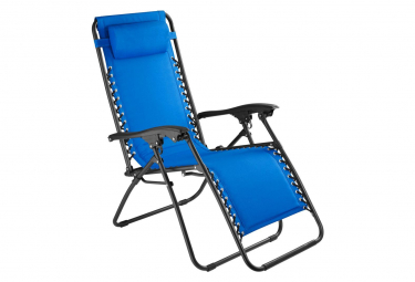 Image of Chaise de jardin camping meuble bleu 2208116