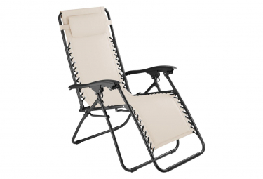 Image of Chaise de jardin camping meuble beige 2208115