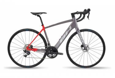 Vélo de Route Électrique BH Core Race 1.6 Shimano Ultegra 11V 2020 Gris / Rouge