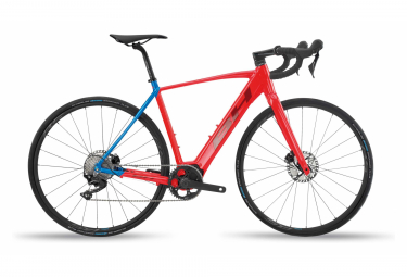 Gravel Bike Electric BH Core GravelX 2.4 Shimano 105 11v Red Blue 2020
