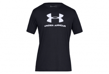 Under Armour Jersey De Manga Corta Sportstyle Logo Negro L