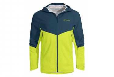 Vaude Simony III 2.5L Waterproof Jacket Blue Yellow