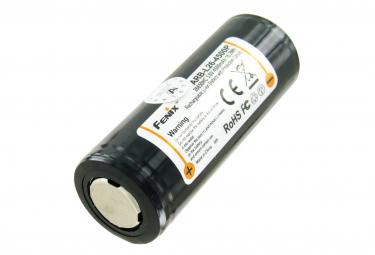 Image of Batterie pour lampe de poche led fenix pd40r fenix arb l26 4500p batterie li ion 26650 protegee 4500mah
