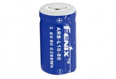 Image of Batterie li ion 10180 18x10mm avec electronique de protection ideale pour les lampes de poche fenix uc02 et uc02ss