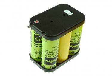 Sanyo Batterie de remplacement pour lampe à main HALO 6, HALO 6 EX, HALO6