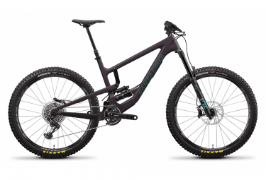 VTT Tout-Suspendu Santa Cruz Nomad CC X01 27.5'' | Sram X01 Eagle 12V | Eggplant and Aquarius Green | 2020