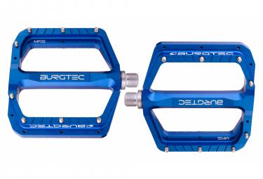 Pedales Planos Burgtec Penthouse Mk5 Azul Profundo