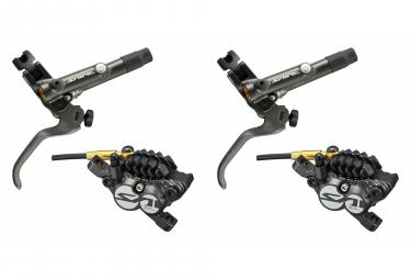 Paire de Freins Shimano Saint BR-M820 J-Kit Métal 4 Pistons (sans disque) 170cm 100cm Noir