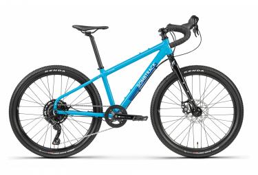 Bombtrack beyond junior bicicleta de grava para ninos microshift advent 9s 24   picton blue 2021