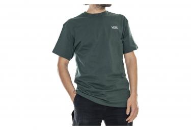 T-shirt vert homme VANS LEFT CHEST LOGO