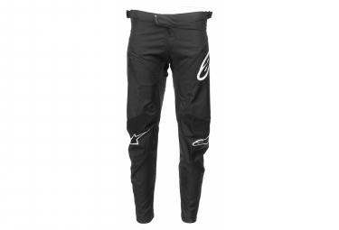 Pantalon Alpinestars Racer Negro   Blanco 32