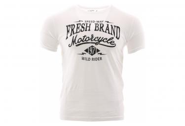 T-Shirt Blanc Homme The Fresh Brand