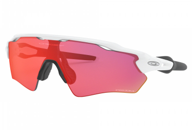 Lunettes OAKLEY Radar EV XS Path Polished Blanc / Prizm Outfield Ref OO9001-0531
