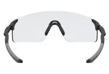 Lunettes Oakley EvZero Blades Noir Mat / Clear-Black Photochromic / Réf. OO9454-0938