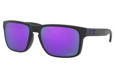 Lunettes Oakley Holbrook Matte Black / Prizm Violet / Ref.OO9102-K655