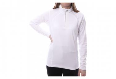 Sweat 1/2 zip polaire Blanc Femme Sun Valley Cinto