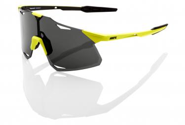 100% gelbe Hypercraft-Brille / Rauchglas + Transparentglas inklusive