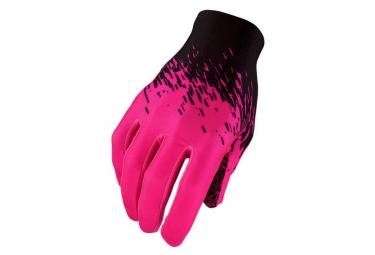 Supacaz SupaG long Gloves Black Pink Neon