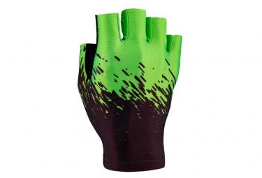 Supacaz SupaG Short Glove Black Neon Green