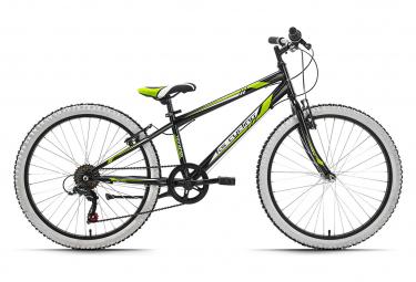 VTT enfant 24'' Scrawler noir TC 31 cm KS Cycling