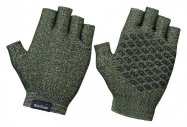 Gants Courts Tricotés GripGrab Freedom Olive