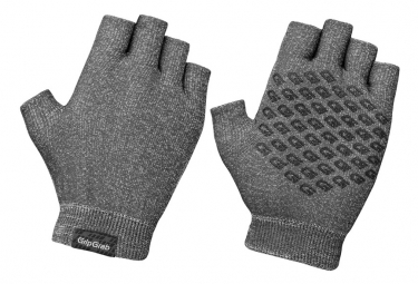 Gants courts en tricot GripGrab Freedom Anthracite