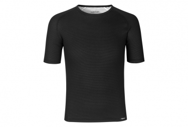 GripGrab Ride Thermal Short Sleeve Base Layer Black