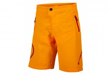ENDURA Kids MT500JR Orange Shorts