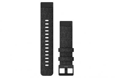 Garmin QuickFit 20 mm Nylon Wristband Heathered Black