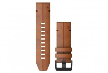 Cinturino in pelle Garmin QuickFit 26 mm Castagna