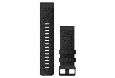 Pulsera de nylon de 26 mm QuickFit de Garmin, negro y negro