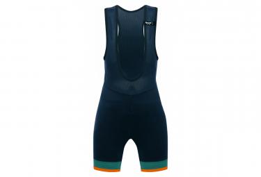 Santini GS Kids Bib Shorts Nautica Blue