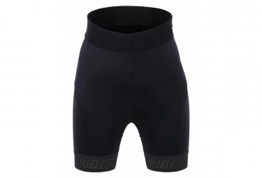 Santini GS Kids Bibless Shorts Black