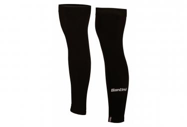 Santini Nuhot Leg Warmers Black